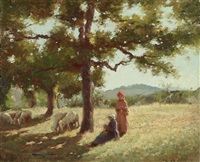 sotto le vecchie querci by alberto cecconi