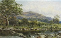 stepping stones on the conway by william henry mander