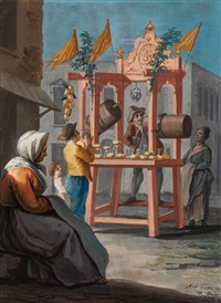 der limonadenverkäufer by saverio xavier della gatta