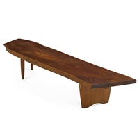 r bench by george nakashima