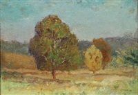 summer landscape by theodore clement steele