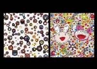 jellyfish eyes white 5 and kaikai kiki 2 works by takashi murakami