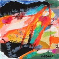 det vilde hjerte (the wild heart) (triptych) by rolf gjedsted