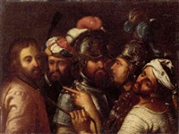 the arrest of christ by lionello spada