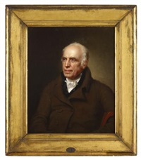 portrait of dr. robert patterson iii (1743-1824) by rembrandt peale