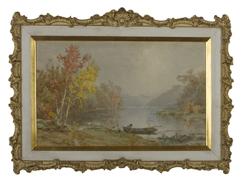 autumn view on the hudson by jasper francis cropsey