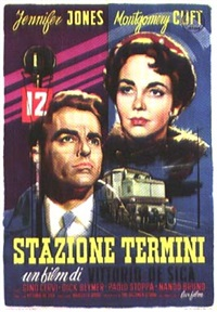 movie: jennifer jones and montgomery clift in stazione termini by posters: movie