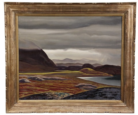 west greenland landscape by rockwell kent