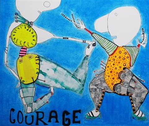 courage mod by mikala valeur
