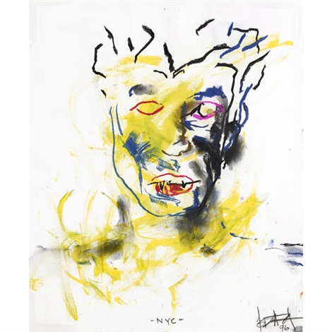 nyc untitled self portrait lrgr 2 works by odili donald odita
