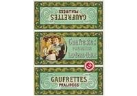 lefevre-utile and gaufrettes pralinees by alphonse mucha