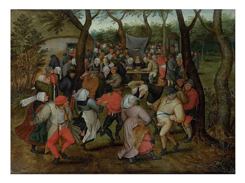 the wedding dance by pieter brueghel the younger
