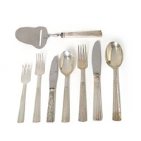champagne cutlery (set of 46) by jens quistgaard