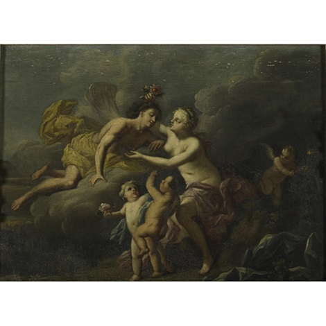 zephyrus and flora by jacopo amigoni