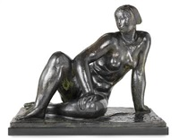 seated model by gerhard henning