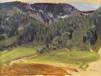 berglandschaft by ferdinand andri