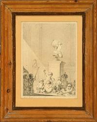 allegory of the fine arts by johann meno haas