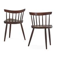 mira chairs (pair) by george nakashima