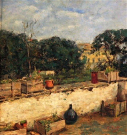 Terrazza fiorita by Vincenzo Irolli on artnet