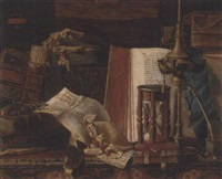 the bibliophile's desk by r. neville leycester