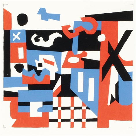 study for a drawing by stuart davis
