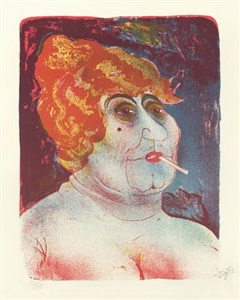 kupplerin by otto dix