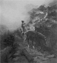 returning from pasture by friedrich wilhelm pfeiffer