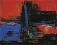 in memory of nan the color by liu fengzhi