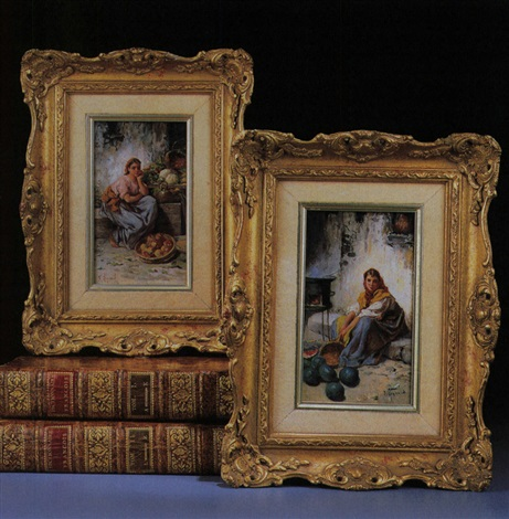 marktfrau another pair by francois maurice reynaud