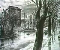 street scene by john paul miller