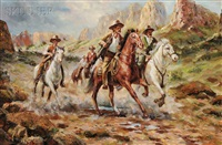 band of western riders by troy denton
