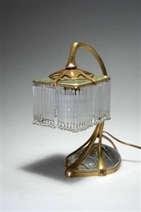 tischlampe by otto eckmann