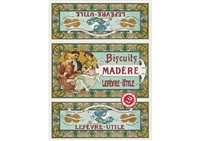 lefevre-utile biscuits madere by alphonse mucha