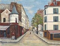 rue marcadet, montmartre by solomon garf