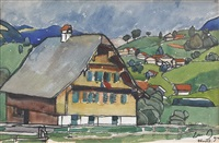 maison près sachseln by edmond bille