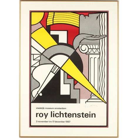 Stedelijk museum poster by roy lichtenstein on artnet for Poster roy lichtenstein