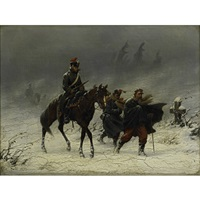 napoleons march by christian sell the elder