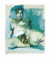 untitled (study) by jenny saville