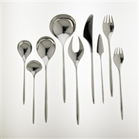 flatware in trinita pattern (set of 65) by hjordis haugaard