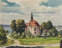 st. marien in birnau am bodensee by lehmann