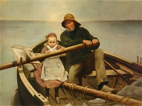 the helping hand after emile renouf by charles armor