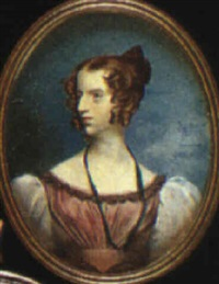portrait of a lady by frederick cruickshank