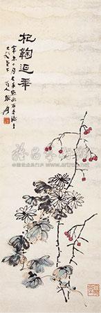 花卉 by zhang daqian