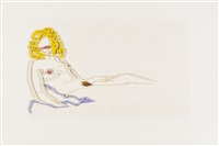 first rosemary drawing by tom wesselmann