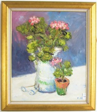 geraniums by duane alt