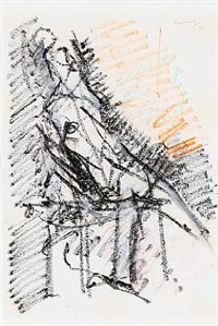composition with woman by wilhelm freddie