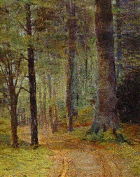 woodland interior by john franklin stacey