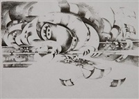 eleventh stone by lee bontecou