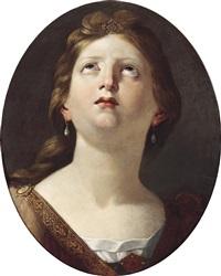 bildnis einer heiligen by angelo caroselli