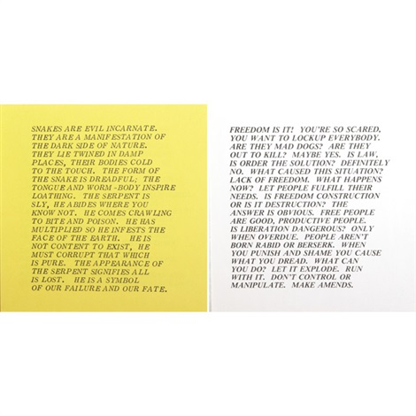 inflammatory essays 10 works by jenny holzer